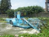 La cosechadora de malezas acuáticas