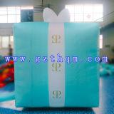 Caja de regalo de inflación Modelo / Publicidad PVC inflable modelo de caja 5m con tela Oxford
