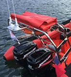 堅く膨脹可能な救助艇のための袋をかSrb訂正しているAqualandの肋骨の軍の哨戒艇(SRB)のための袋を訂正している自己か自己
