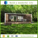 조립식 큰 경간 빛 강철 구조물 및 유리 집 별장