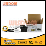 Профессиональное изготовление светильника крышки минирование, Caplamp Kl4ms горнорабочей