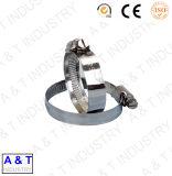 Tipo americano carbono abraçadeira do tubo de borracha de aço inoxidável / Braçadeira da Mangueira