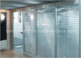 8mmの10mm装飾的な緩和されたフロートガラスのシャワーのパネル