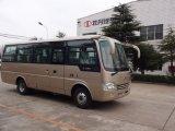 Tipo mini omnibus de la estrella del transporte de la escuela con la puerta dura de aluminio
