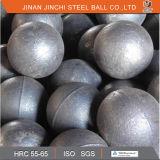 Diamètre de meulage moulé par chrome élevé 15mm-130mm de bille en acier