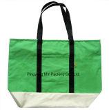 100%有機性絹プリントメッセンジャーの綿の昇進袋