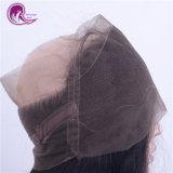Реми бразильских индейцев Virgin человеческого волоса 360 фронтальной кружева закрытия