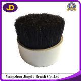 Usine de soies à cheveux noirs teintés
