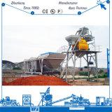 Fácil desmantelado instalado Hzs50 50m3/H Ready Mix planta de procesamiento por lotes para la venta de concreto