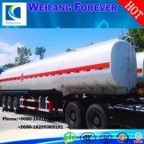 トラックのトレーラーは販売のために3車軸45000L原油タンク燃料のタンカーを使用した