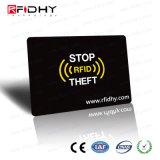 مضاد للسرقة بطاقة الائتمان المحفظة حامي RFID حجب البطاقة كم