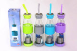 Многоразовый Тритан пластиковую бутылку воды спорта расширительного бачка с помощью замка крышки багажника