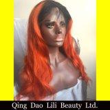 Peluca modificada para requisitos particulares color completo corto de Ombre de las pelucas del pelo humano del cordón de Glueless del estilo de la manera para la mujer negra