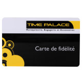 Prix bon marché Sercurity Interface double Gold carte en plastique