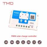 O uso inicial de grade 50A 60umCarregador Solar PWM MPPT LCD Controllercom USB