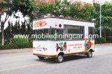 BBQ van het Voedsel van de vertoning de Verkopende Vrachtwagen van het Voedsel van de Kantine Mobiele