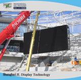 P6 SMD LED móvil al aire libre, pantalla a color
