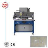 Máquina de impressão de tela vertical plana de alta eficiência de PVC