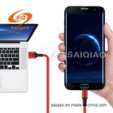 3.0Type USB-C de carga de trenzado de cuero para Samsung cable de datos