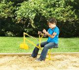 Heavy Duty Red Kid Sand Digger Escola Yard Beach Sand Play