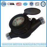 나일론 플라스틱 다중 제트기 건조한 유형 (Dn15-25mm)의 물 미터