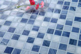 Mosaico de vidrio Material de construcción de diseño de patrón de piscina mosaico