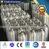 Alumínio contínua de alta pressão do cilindro de CO2 com a norma ISO7866 Aprovação