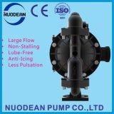 """1"""" de aluminio de gran caudal de accionamiento neumático bomba de diafragma doble"""