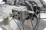 Plastikextruder-Maschine für Belüftung-Rohr-Profil-Blatt-Vorstand-Strangpresßling