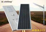 O material de liga de alumínio de iluminação de exterior LED LED Solar Lâmpada de Rua
