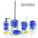 Salle de bains set- Transparent Polyresin série (WBP0299A)