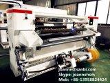Nuova alta velocità controllata automatica del PLC che fende e macchina di riavvolgimento