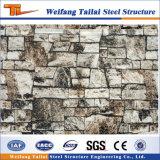 Helle Stahlkonstruktion-vorfabrizierte Haus-materielle Wand-dekoratives Panel