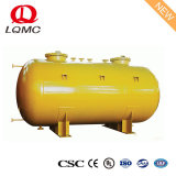 ULの証明の倍によって囲まれる地下のガソリン燃料タンク