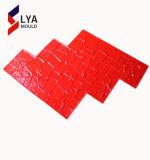 ゴム製マット型の装飾的な押されたコンクリート型