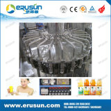 600ml HDPE Bottle Fruit Juice Hot Filling Machine