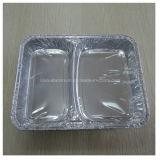 テークアウトの食品包装のアルミホイルの容器
