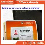 Kundenspezifische Laserdrucker-Plastikstich-Hersteller-Laser-Markierung