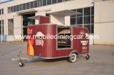 Camion/remorque de nourriture de BBQ avec le beau modèle à vendre