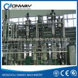 Tfe alto precio de fábrica de ahorro de energía eficiente limpió vacío rotativa utiliza el motor de la planta de reciclaje de aceites usados