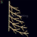 Beleuchtung-2D Motiv-Stern-Straßenlaterneder Weihnachtsverzierung-LED