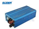 Suoer 태양 에너지 변환장치 1000W에 의하여 변경되는 사인 파동 힘 변환장치 12V에 최고 가격 (SFE-1000A와) 가정 사용을%s 220V 변환장치