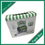 Caixa impressa personalizada de papel para comida impressa