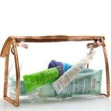 Tirette recevoir sac cosmétique de renivellement de première PVC de commande à façon et de tirette
