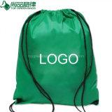 スポーツカスタム昇進ポリエステルドローストリング袋の背部パックの広告