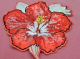 Les correctifs de Broderie de fleurs accessoires du vêtement YM-P002