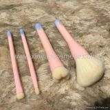 Brush의 Manufactor OEM Animal Hair Pink Three-Dimensional Head Four Sets