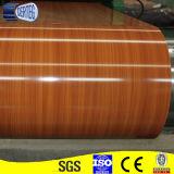 Деревянной катушка покрашенная картиной стальная
