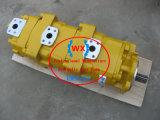 Original de Japón el cargador de Komatsu Wa380 Bomba de engranajes de dirección hidráulica: 705-56-34180 Hidráulico de piezas de repuesto Systems