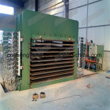 貿易保証の油圧熱い出版物機械合板の熱い出版物機械